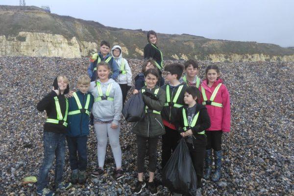 Group - beach clean